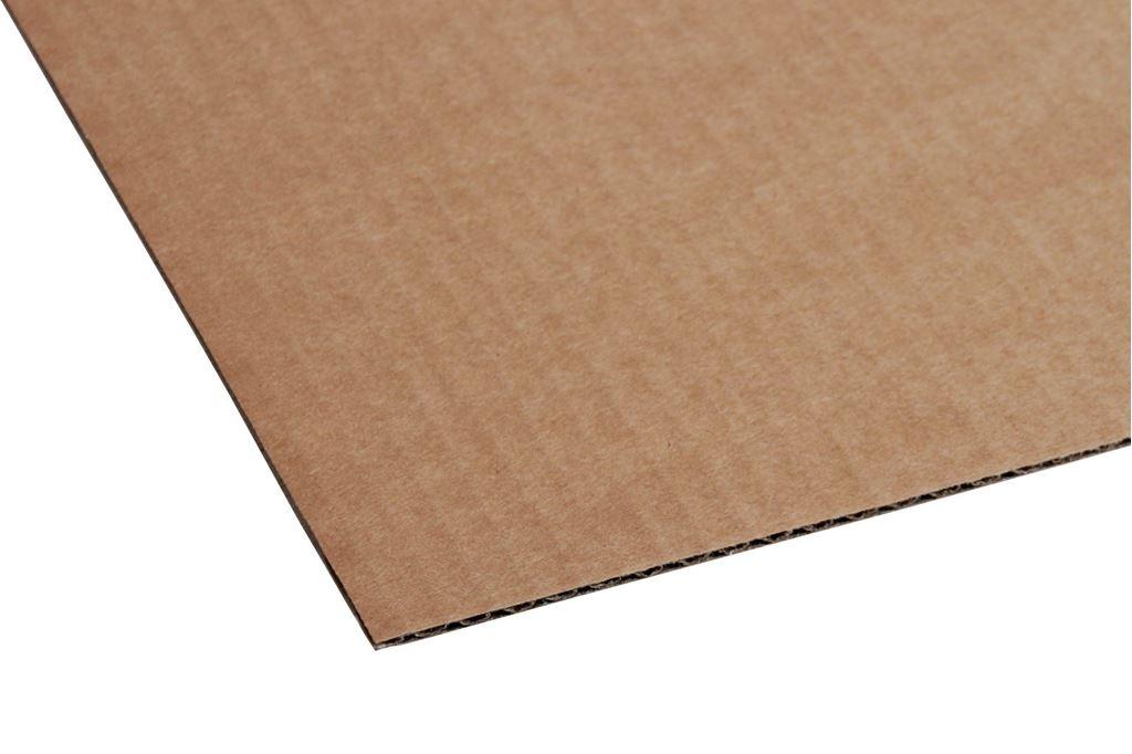 Afbeelding van kartonnen platen standaard