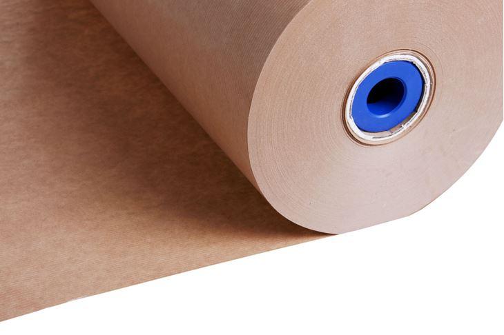 Afbeeldingen van Rollen bruin kraftpapier