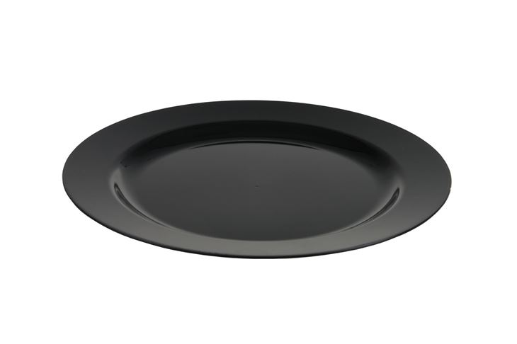 Afbeeldingen van Plastic borden luxe zwart