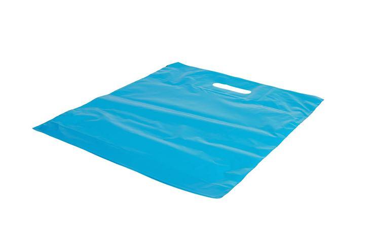 Afbeeldingen van Plastic draagtassen gekleurd