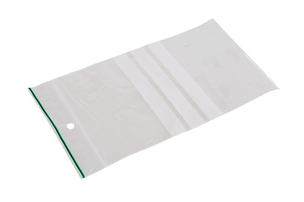 Afbeelding van Gripzakken met schrijfvlak